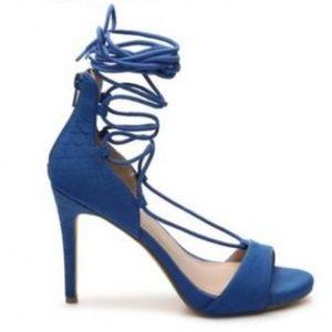 MIX NO. 6 Blue Roza Sandals size 7
